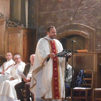 1ère messe de L'Abbé Jean-Vivien PÂQUIER