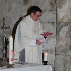 L'abbé COUGET, curé de BOSSUGAN