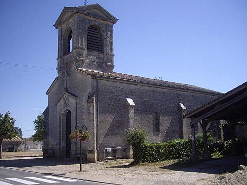Eglise Saint Ferdinand-Saint Martin de Piquessegue à Mouliets